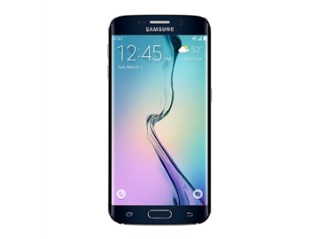 Samsung Galaxy S6 Edge 32GB black + TKH