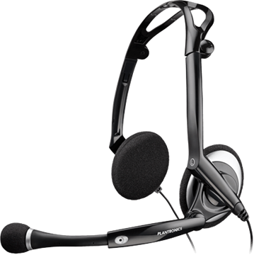 Plantronics Audio 400 USB Foldable Heatset