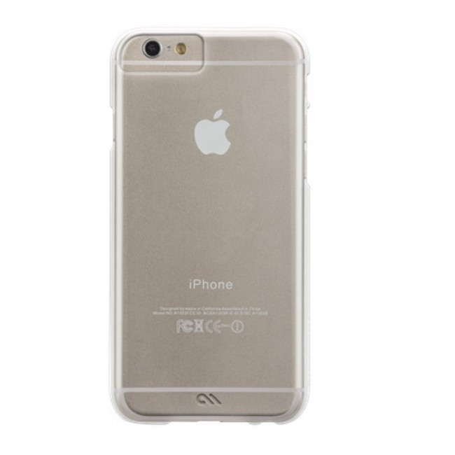 Afbeeldingen van Case-Mate iPhone 6 Barely There Clear