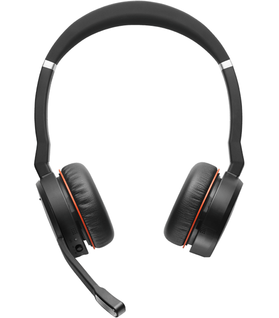 Jabra Evolve 75 Uc Duo Wireless Headset: Jabra Evolve 75 Stereo UC Incl Lader