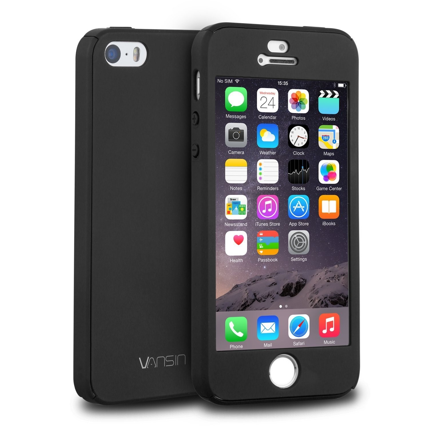 Gecko Cover Gloss case Iphone5s + screer