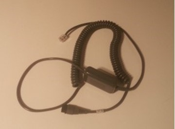 Imtradex cable coiled inline + mute