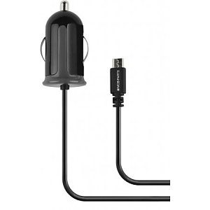 Mobiparts Car Charger Micro USB 2.1A Blk