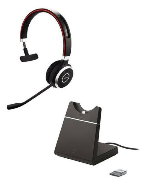 Jabra Evolve 65 MS Mono incl charging