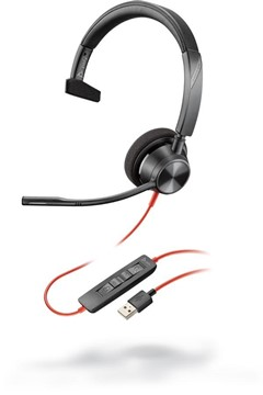 Plantronics Blackwire 3310 Microsoft, USB A headset