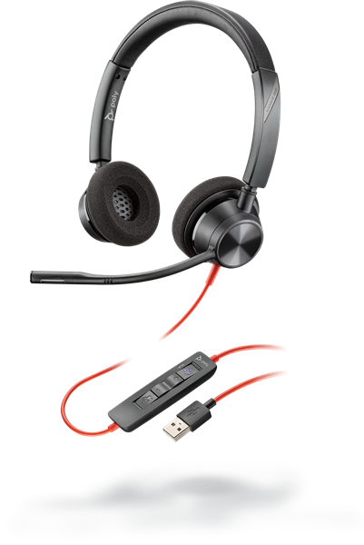 Poly Blackwire 3320 USB-A